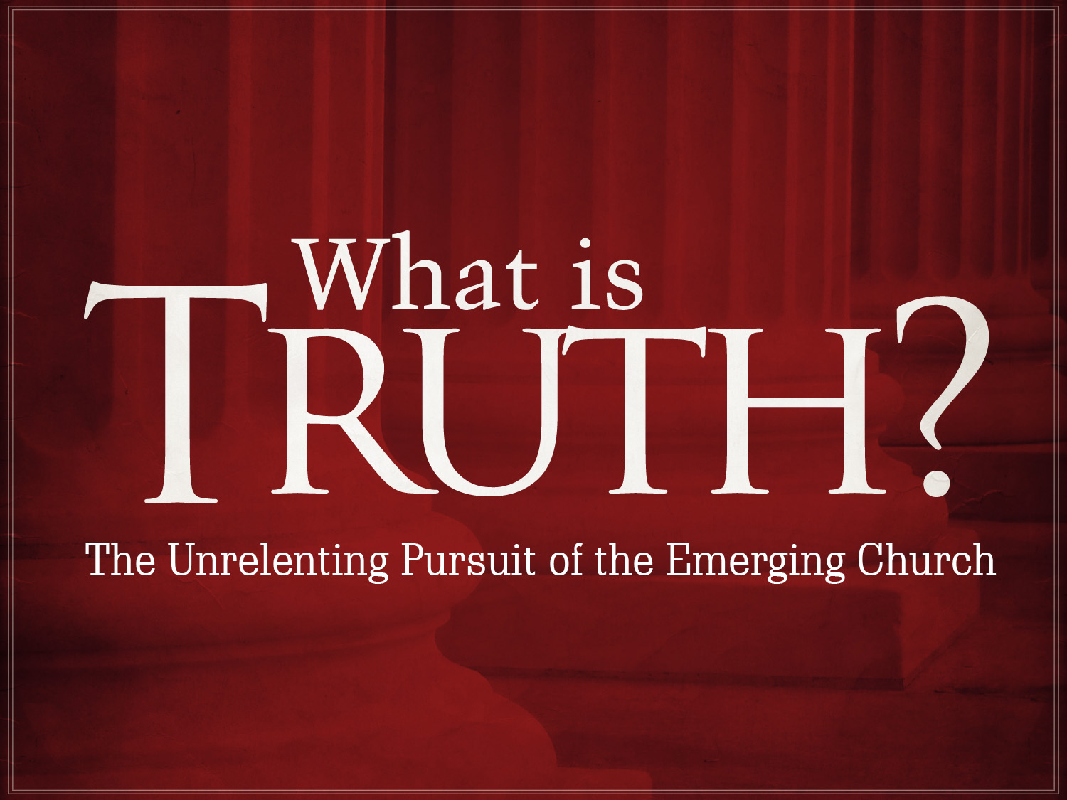 understanding postmodernism through the emerging church This essay was produced by one of our professional writers as a learning aid to help you with your studies postmodernism emerging church how can we understand.